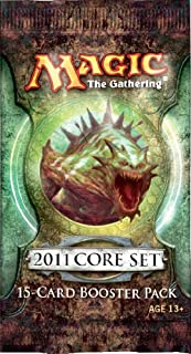 Magic the Gathering - MTG: 2011 Core Set M11 Booster Pack (1 Pack of 15 Cards)