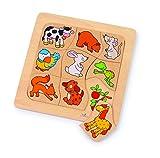 Gollnest & Kiesel - Puzzle de madera de 9 piezas (Handelshaus Gollnest & Kiesel 56880) [Importado]