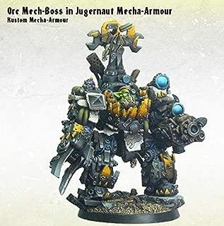 KROMLECH: Orc Mech-Boss in Kustom Mecha-Armour (1)