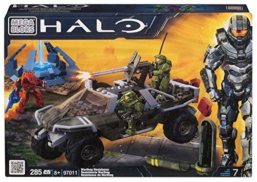 Mega Bloks 97011 Halo Warthog Resistance, 285 Pezzi
