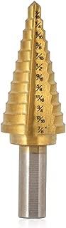 Saiper Titanium Step Drill Bit 3/16