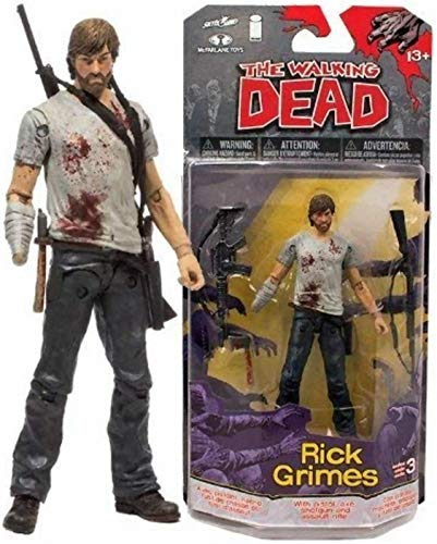 The Walking Dead McFarlane Toys Comic Series 3 Rick Grimes...