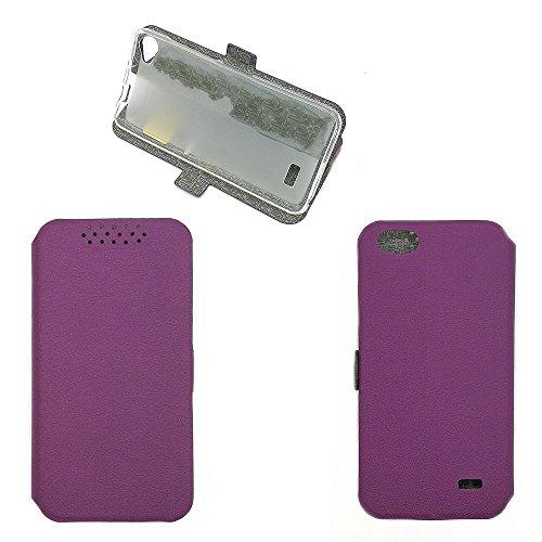 QiongniAN Hülle für Acer Liquid Z6E hülle Schutzhülle Hülle Cover Purple