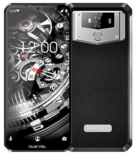 6.3' 64GB 6GB RAM 10000mAh, OUKITEL K12 FHD+ 4G Unlocked Cell Phone, Helio P35 Octa Core, Dual SIM, 16MP+8MP Camera, NFC Face ID