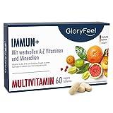 [page_title]-Immun+ Multivitamin Hochdosiert - 2 Monate Immun-Kur - Vitamin Komplex hoch Bioaktiv - Alle wertvollen Vitamine A-Z und Mineralien - 60 Tabletten - Laborgeprüft hergestellt in Deutschland