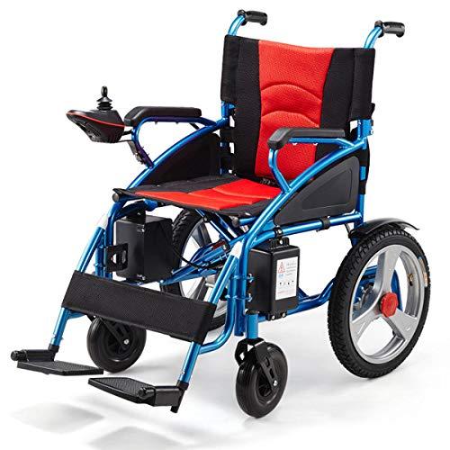 Dapang Silla de Ruedas eléctrica Ancianos Coche discapacitado Ancianos Inteligente Scooter portátil...