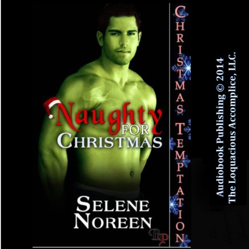Naughty for Christmas audiobook cover art