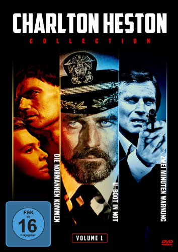 Charlton Heston Collection, Vol. 1: Die Normannen kommen / Zwei Minuten Warnung / U-Boot in Not (3 DVDs)
