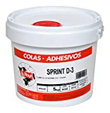 Rayt 414-23 Cola blanca Sprint D3 resistente a la humedad apta para exteriores, 5kg