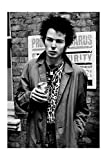 Sex Pistols - Sid Vicious in Oxford Street London 1977 By