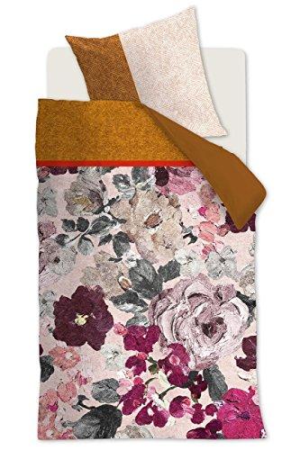 Oilily Wendebettwäsche Mellow Rose Satin rot Größe 135x200 cm (80x80 cm)