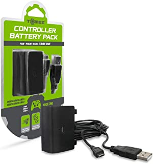 Tomee Controller Battery Pack and Charge Cable for Xbox One (Certified Refurbished)