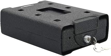 mewmewcat Caja Fuerte para Coche de Acero Negro 21,8x16x7 cm ...
