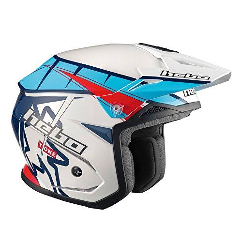 Hebo Trial Zone 5T-One-Helm, blau, Größe XL