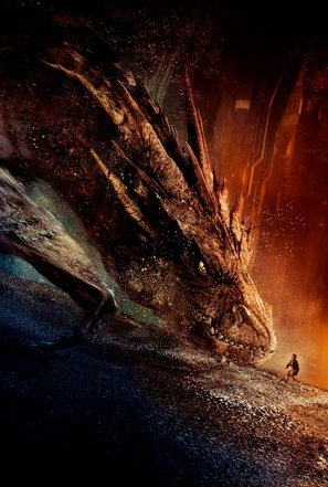 Import Posters The Hobbit : The Desolation of Smaug – U.S Textless Movie Wall Poster Print - 30CM X 43CM