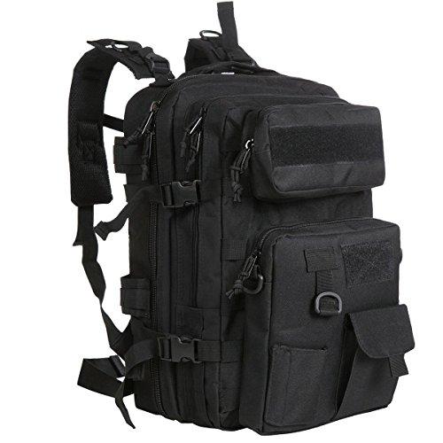 G4Free 40L Tactical MOLLE Rucksack mit Abnehmbarer Tasche Armee Rucksack für Camping Trekking Jagd Angeln