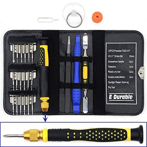 26 en 1 Mini Destornilladores de Precision Set,Desmontar de Herramienta movil,DIY para Gafa,iPhone Samsung