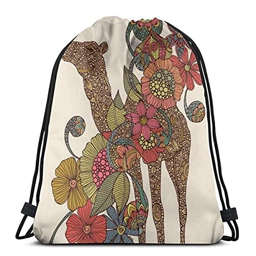 Lmtt Bolsas con cordón Mochila Easy Camels Bolsas con cuerdas de tracción a granel Almacenamiento deportivo Gimnasio para niños Mochila de viaje grande Talla única