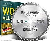 Bayerwald – Lama per sega circolare da banco HM per legno – Ø 400 mm x 3,5 mm x 30 mm | denti alternati (96 denti/fine) | Fori combinati
