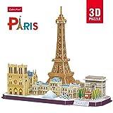 Cubic Fun–Puzzle 3D de la Ville de Paris en Ligne (771mc254)