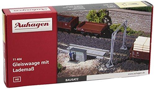 Auhagen - 11404 - Modélisme Ferroviaire - Bâtiment - Bascule À Wagons avec Gabarit De Chargement