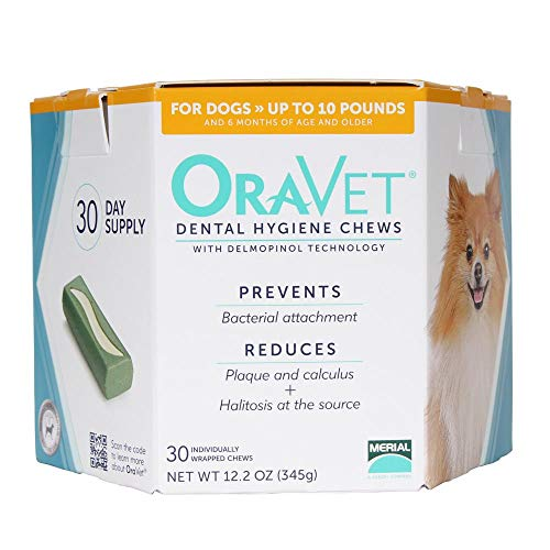 Frontline OraVetreg; Dental Hygiene Chews XSmall UP to 10LBS (30 Count)
