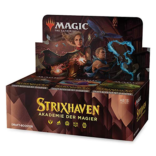 Magic: The Gathering Strixhaven-Draft-Booster-Display (36 Draft-Booster) - Deutsche Version