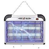 Haolgo Lampe Anti Moustique, UV LED,Anti Moustique Electrique Anti Insectes Intérieur et Extérieur,20W, Efficace Portée 20-120M²,Non Toxique