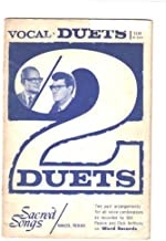 2 DUETS - Vocal Duets (Sacred Songs, Bill Pearce, Dick Anthony, Word Records, Song Book, Music Book)