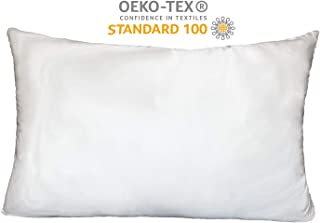 JOYSUN Collection 100% Silk Pillowcase for Hair and Skin,Hypoallergenic, with Hidden Zipper,Both Side Qualified 21 Momme Silk,600 Thread Count,Gift Box 1pc (Ivory, Queen 20''x30'')