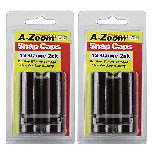 A-ZOOM Precision Snap Caps 12 Gauge (2 pcs per Pack (4 pcs...