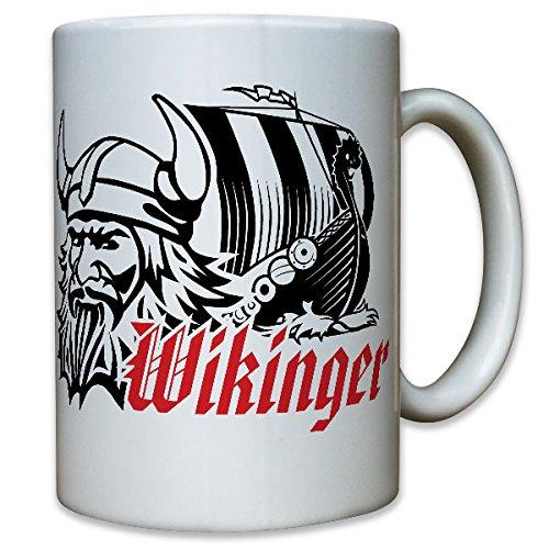 Vikingo barco-dragón Barco Casco Odin largo Guerrero Barco-Taza de café taza # 10892