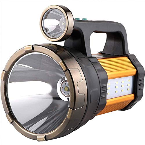 MKJYDM Reflector LED Luz multifunción Recargable Portátil Portátil Focos Luces for acampar Energía móvil Alta potencia Super brillante 950 W Linterna Resplandor Carga 5000 Luz súper brillante de xenón