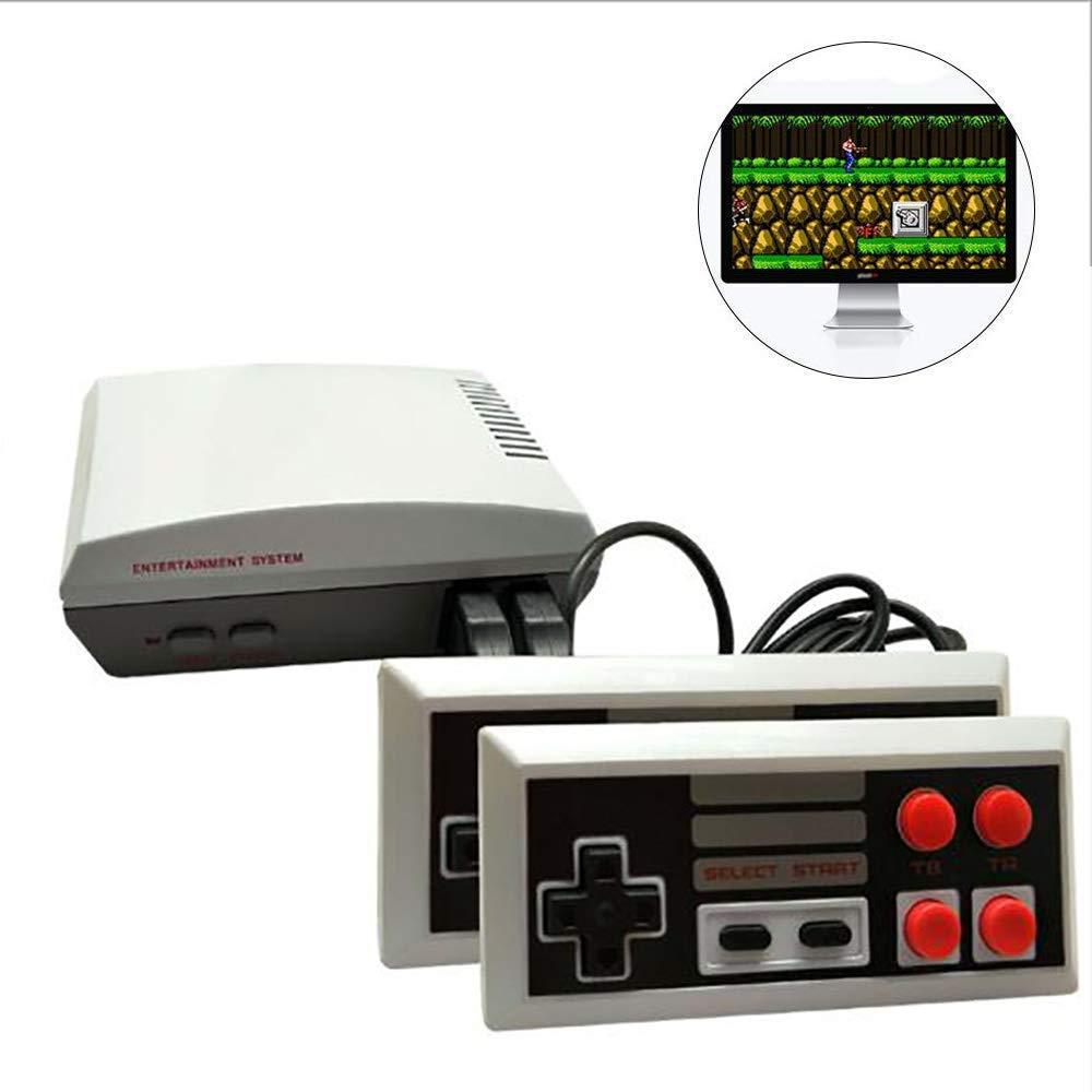 YXF Dispositivo de Juego de Mano Inicio TV Mini-Consola de Juegos, Consola de Juegos portátil,