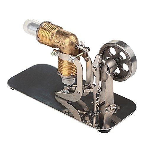 ELENKER Mini Hot Air Stirling Engine Motor Model Educational Toy Kits