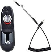 Wired Remote Shutter Cord JJC Shutter Release Cord Control Cable Fit for Fuji Fujifilm X-T3 X-T2 X-T1 X-T30 X-T20 X-T10 X-T100 X-Pro2 X-E3 X-E2S X-E2 X-A5 X-A10 X-H1 X100F X100T X70 X30 XF10 GFX 50S