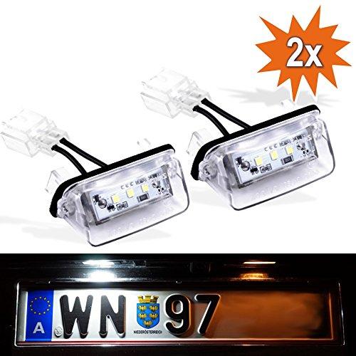Do!LED P206 LED Kennzeichenbeleuchtung mit E-Prüfzeichen Xenon Optik
