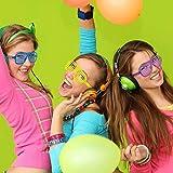 Recensione Yojoloin 14PCS Gonfiabili Chitarra Sassofono Microfono Occhiali Palloncini Strumenti Musicali Accessori per Feste Forniture per Feste Palloncini Colore Casuale (14 Pezzi)