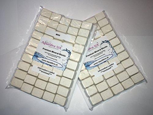 AQUALIBRA UK 100 x CALCIUM & MINERAL BLOCKS (MINI 4g) for Tropical FISH, INVERTEBRATES and REPTILES
