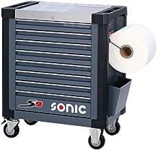 Sonic Equipment S9 - Carro de taller (527 piezas), color gris oscuro