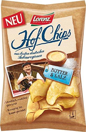 Lorenz - Hof Chips Butter& Salz - 110g