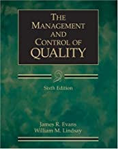 The Management and Control of Quality by James R. Evans (2004-04-02)
