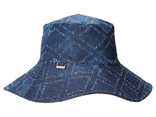 LAUREN RALPH LAUREN Packable UPF Sun Hat Denim One Size