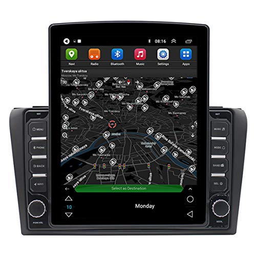 Dispositivo navegador satelital de 9.7 Pulgadas para camión de Camiones de Coche, con Llamadas de Manos Libres, tráfico Vivo y cámara de Velocidad, Adecuado para Vie