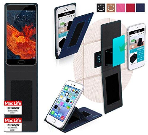 reboon Hülle für Meizu Pro 6S Tasche Cover Case Bumper | Blau | Testsieger