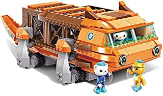 Enlighten Octonauts GUP-G Mobile Speeders Launcher & Barnacles Kwazii Peso 378pcs Building Block Set-Without Original Box (3706)