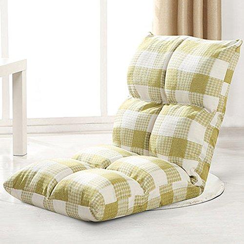 Longues MAZHONG Chaise de Plancher réglable et Chaise de Jeu (Couleur : A)
