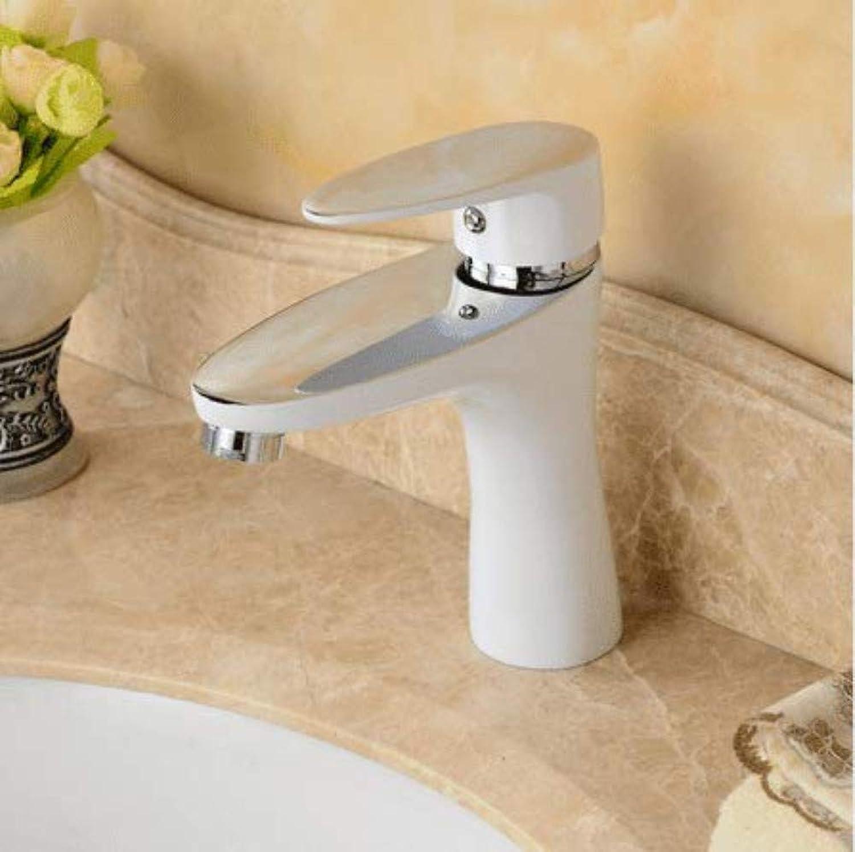 360 ° drehbarer Wasserhahn Retro Wasserhahn Waschtischarmatur Baked Painted Badezimmer Mixer Becken Wasserhahn