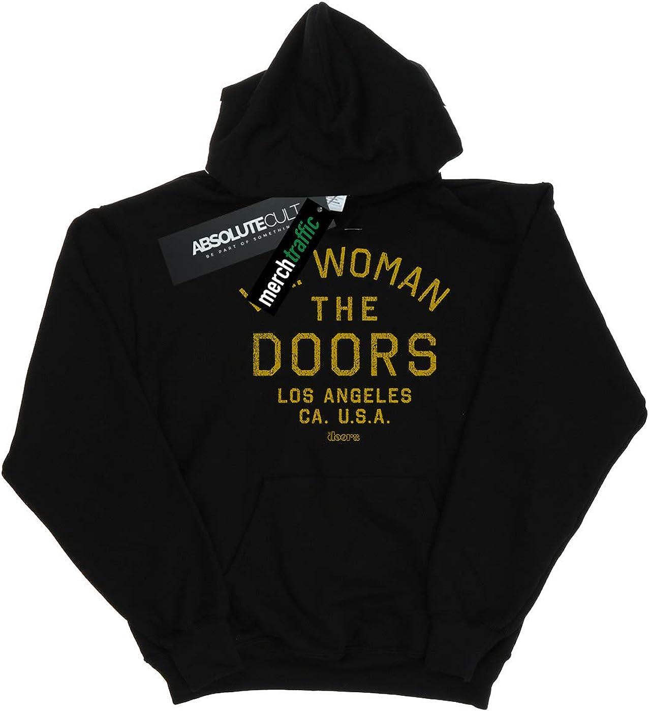 Absolute Cult The Doors Homme LA Woman Text Sweat À Capuche Noir
