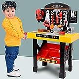 HomeStoreDirect Boys Kids Childrens Role Play Builder Work Shop Tool Bench DIY Workbench & Parts